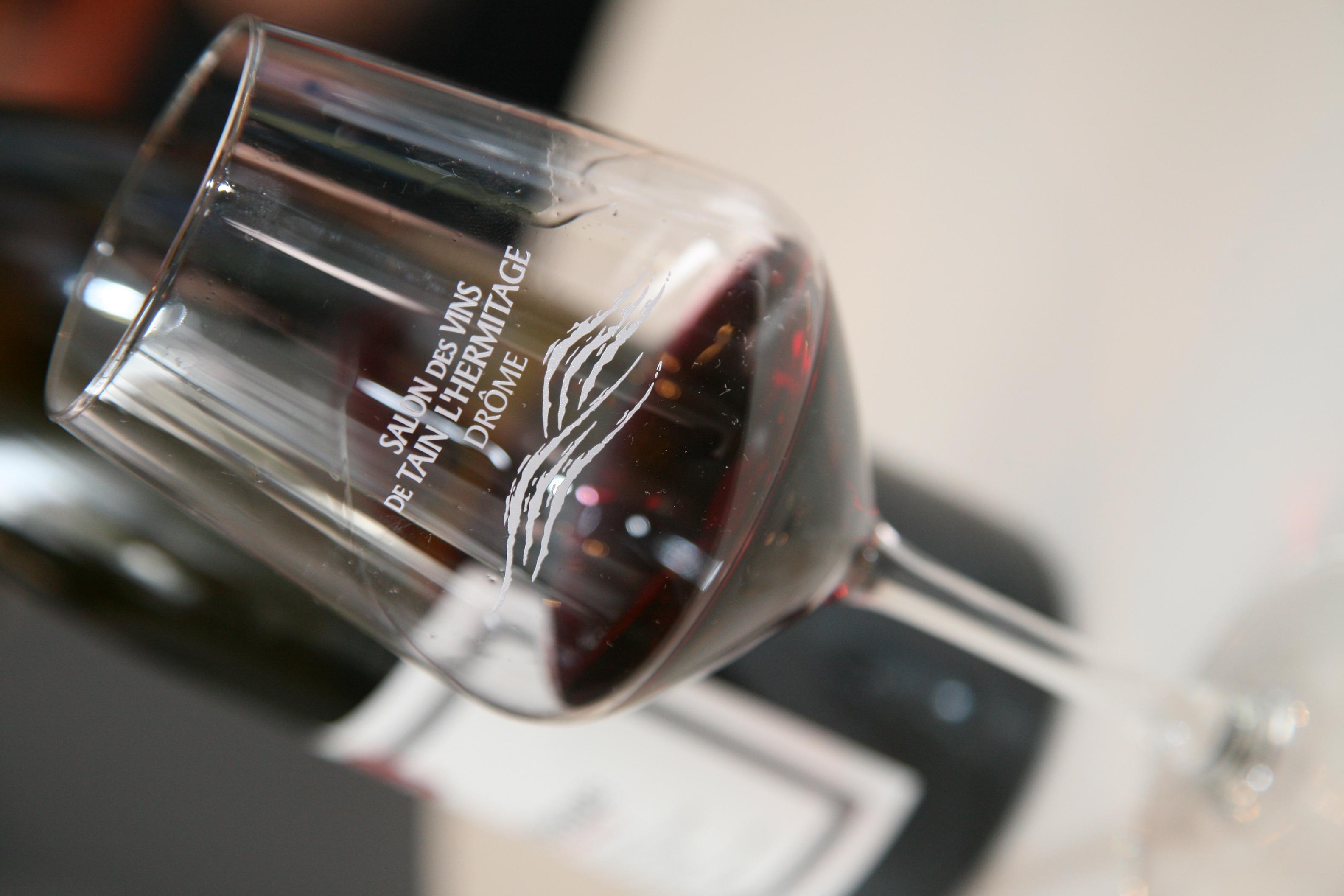 Verre salon des vins de tain