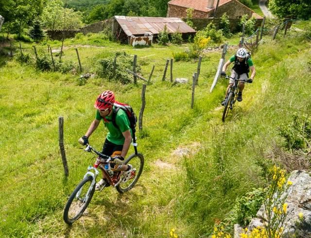 Les parcours Enduro VTT en Ardèche Hermitage