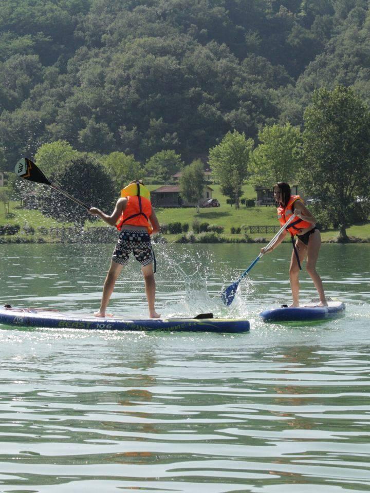 Paddle au Lac de Champs