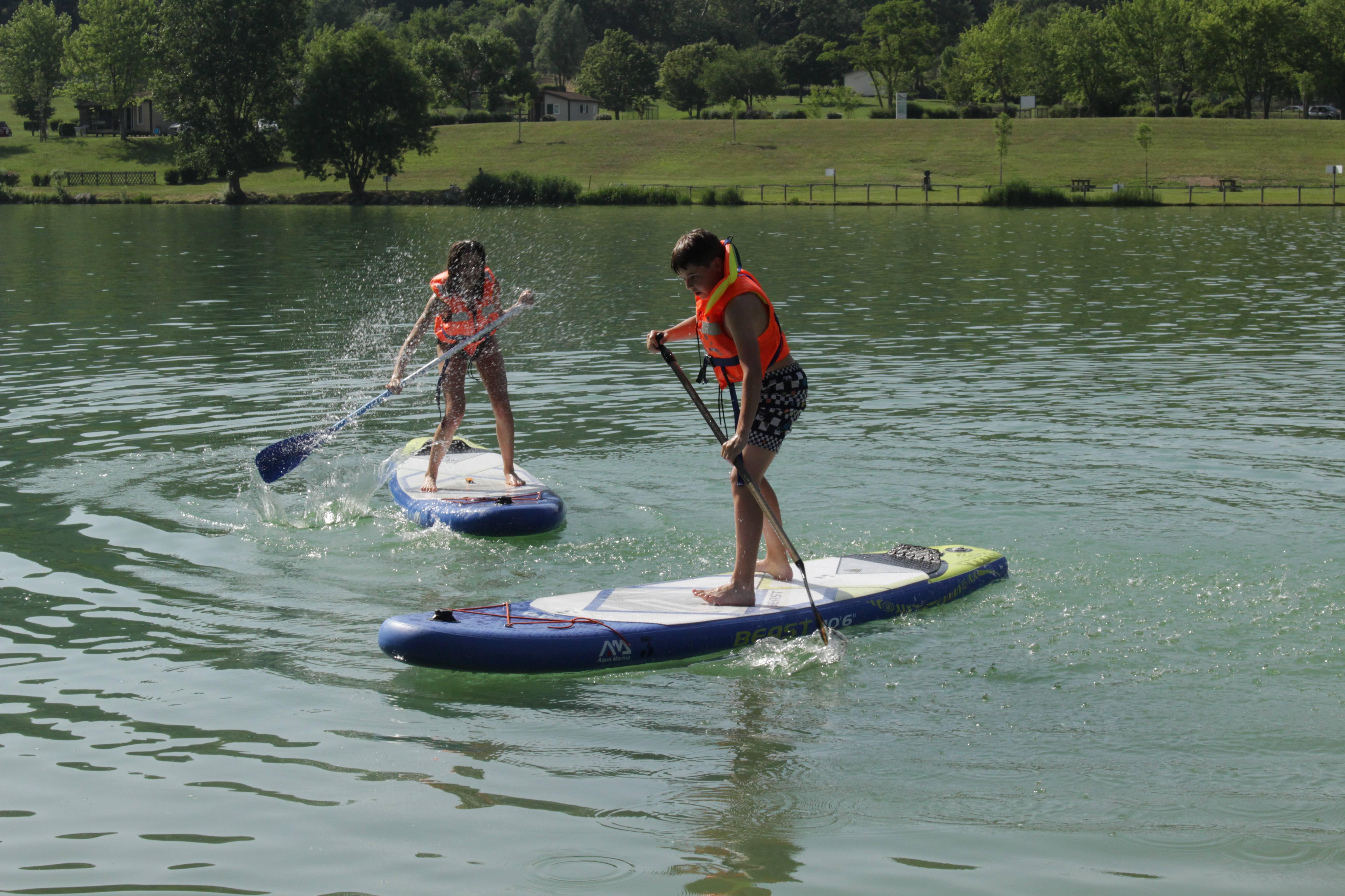 Paddle au Lac de Champos