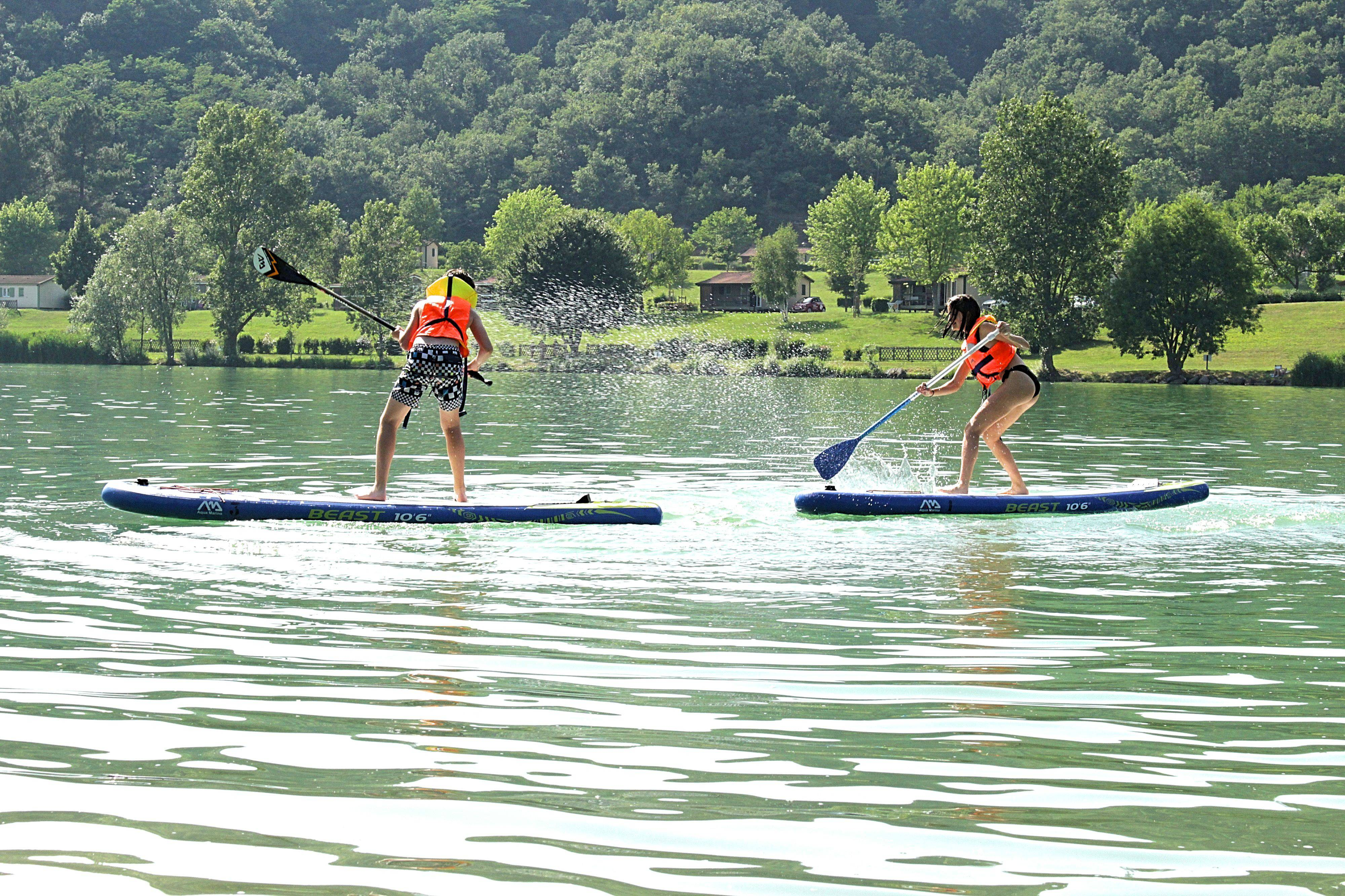 Paddle sur Le Lac de Champos