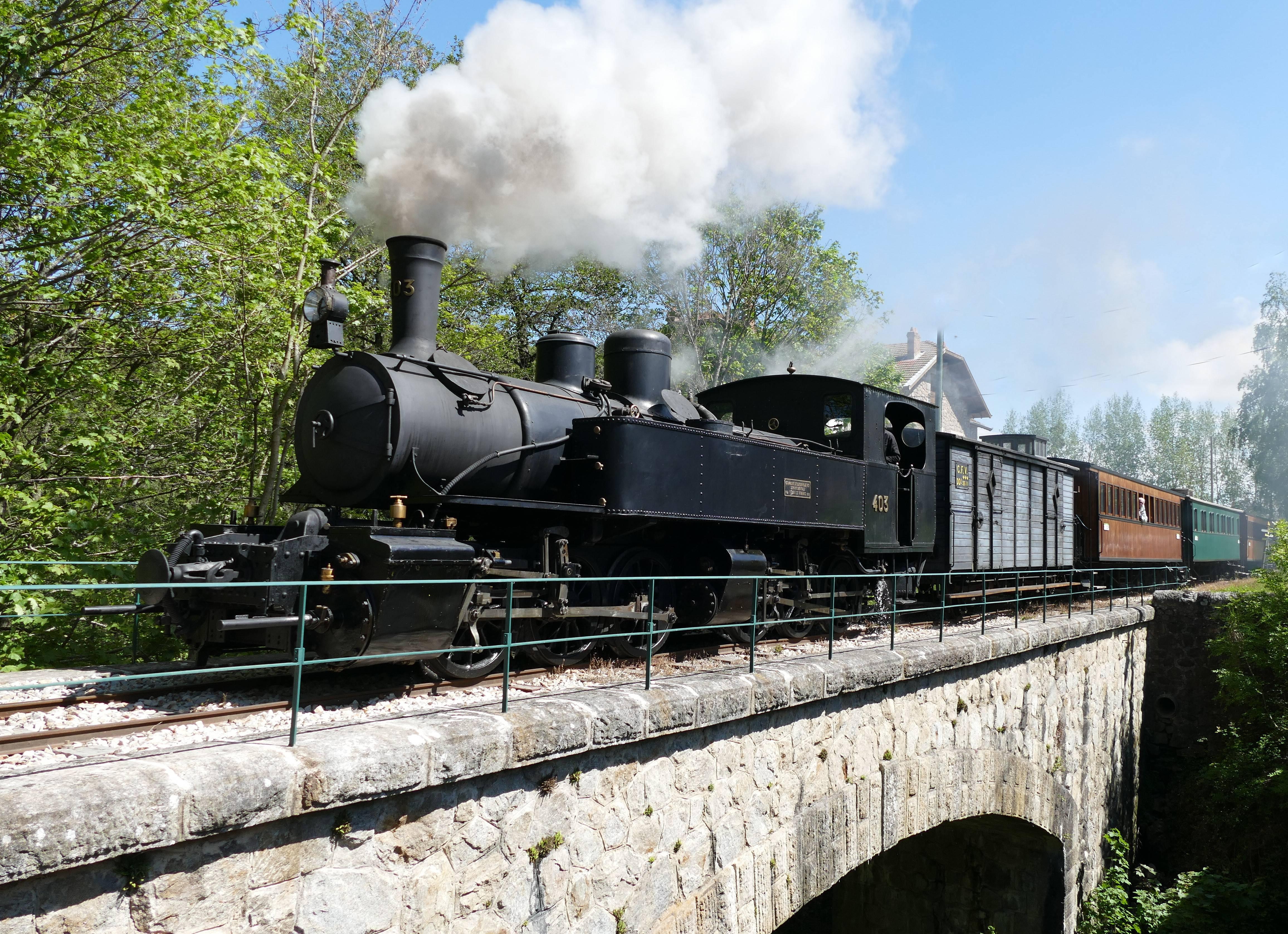 Chemin de fer du Vivarais - Train de l'Ardèche
