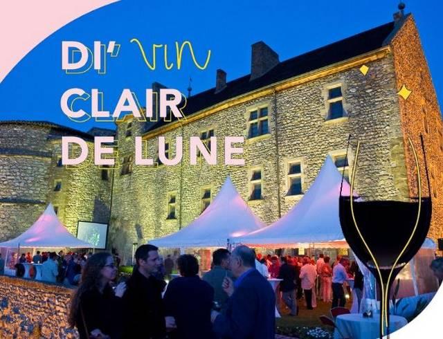 Di'Vin Clair de Lune – Soirée dégustation sur la terrasse du Château