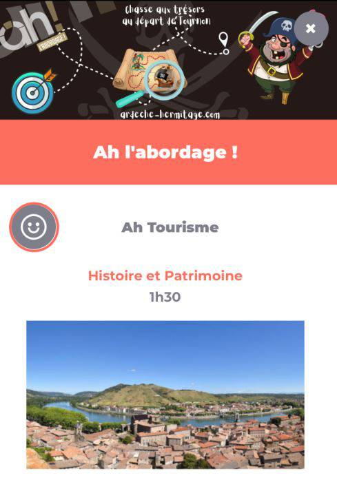 Application à l'abordage