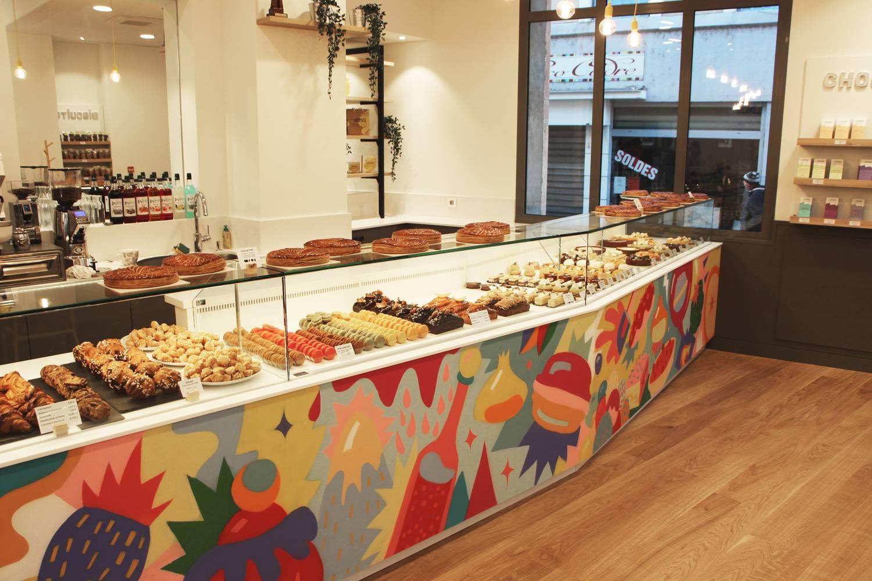La nouvelle pâtisserie au centre de Tournon sur Rhône
