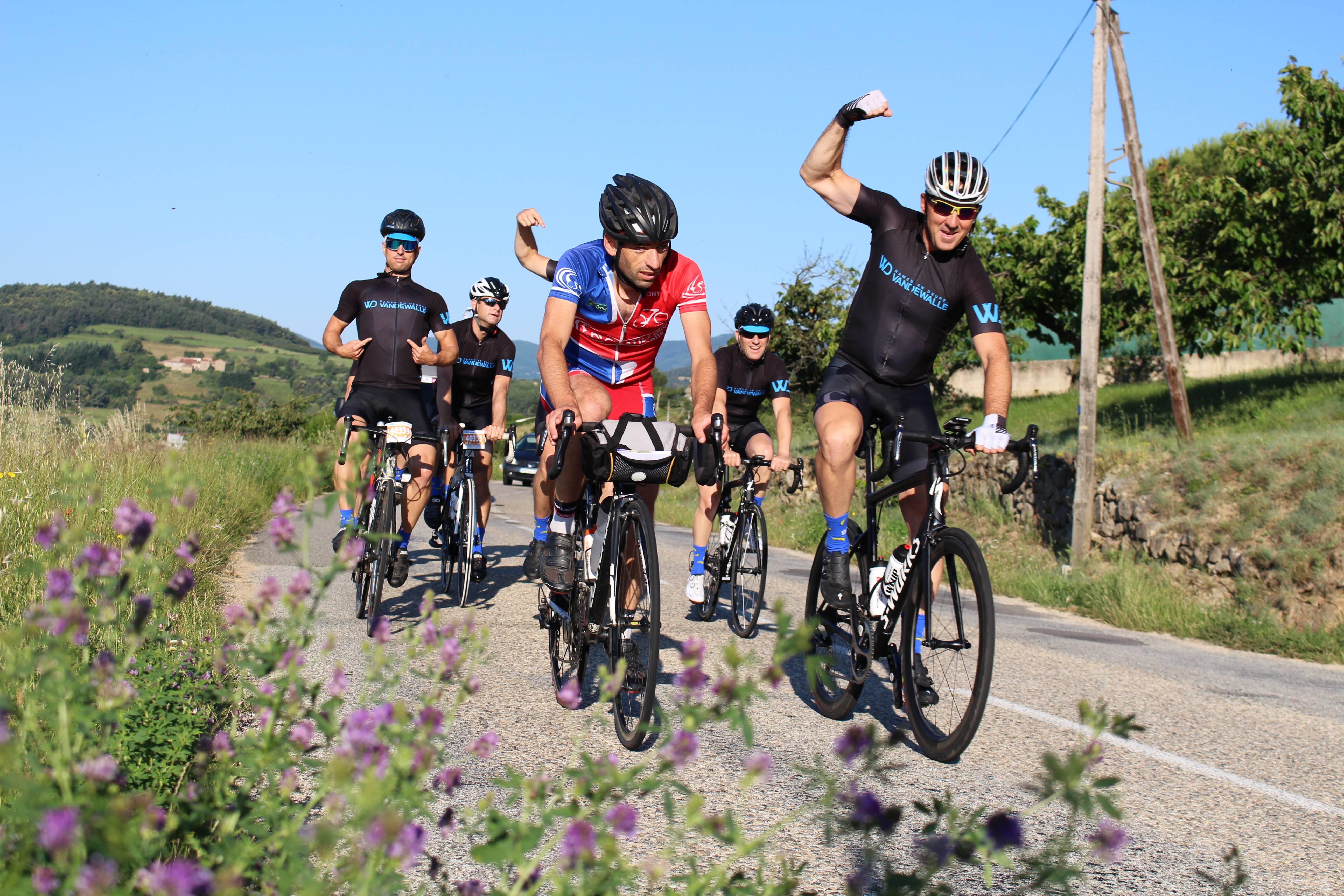 Mytique course cycliste de l'Ardéchoise