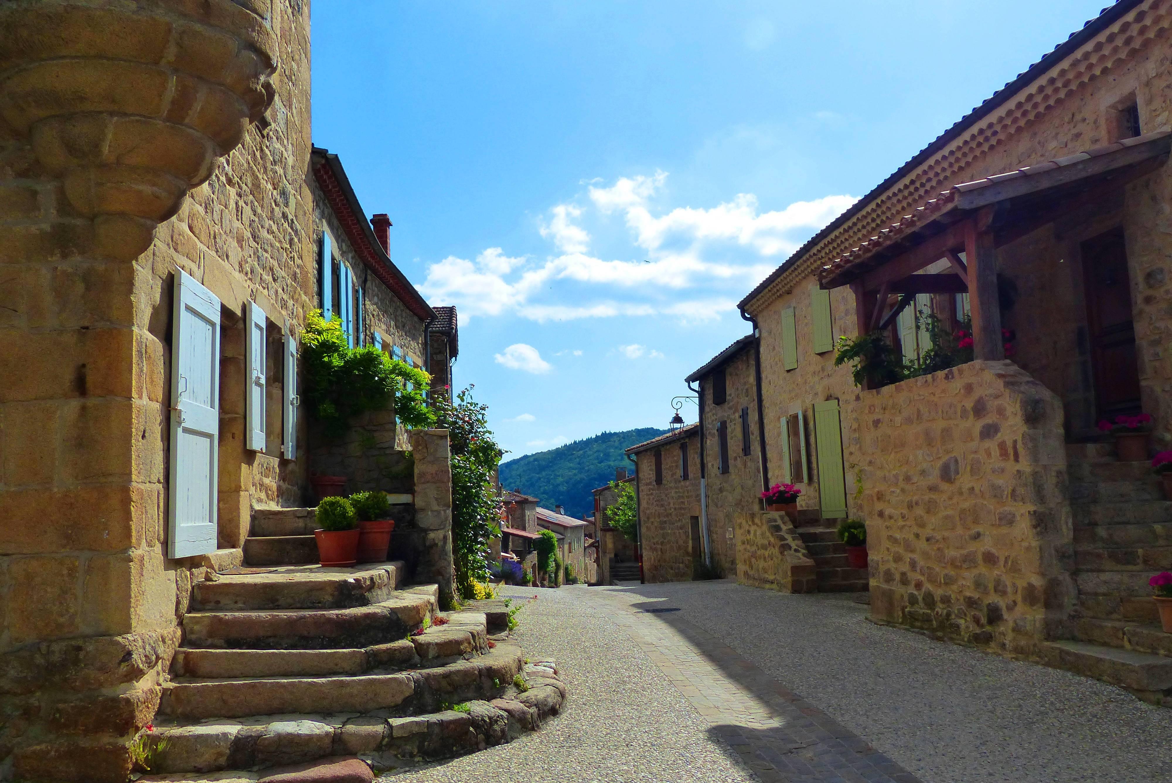 Boucieu le Roi un des plus beaux villages d'Ardèche