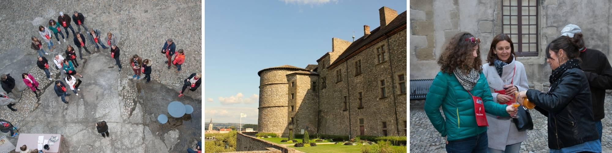 TarifS visite guidée château Tournon
