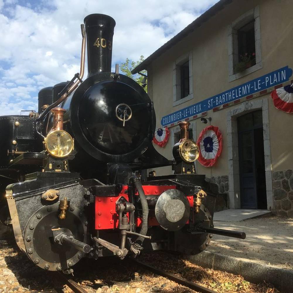 Image du tournage Capitaine marleau au Train de l'Ardèche