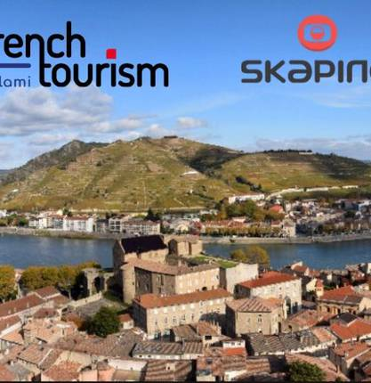 La première webcam de la Vallée du Rhône en Ardèche Hermitage