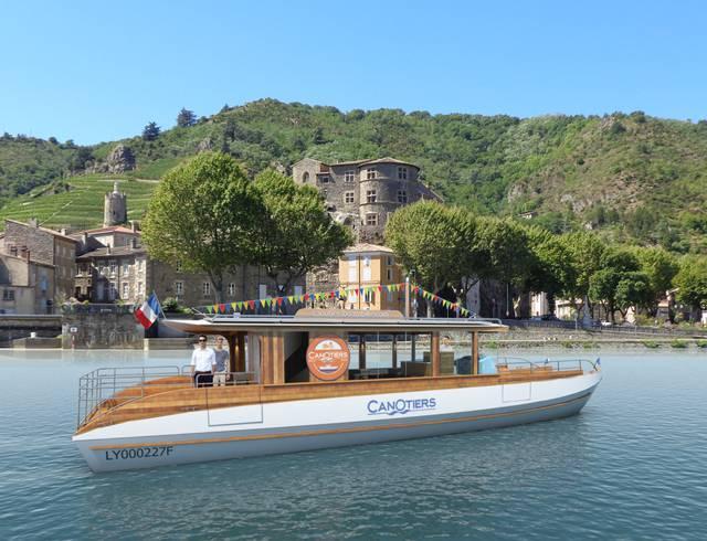 Croisière sur le Rhône au départ de Tournon