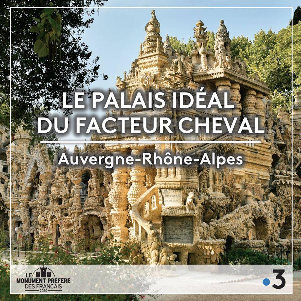 Palais Idéal Monument préféré des français