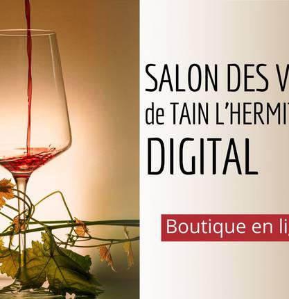 Le Salon des vins de Tain l'Hermitage se met au digital