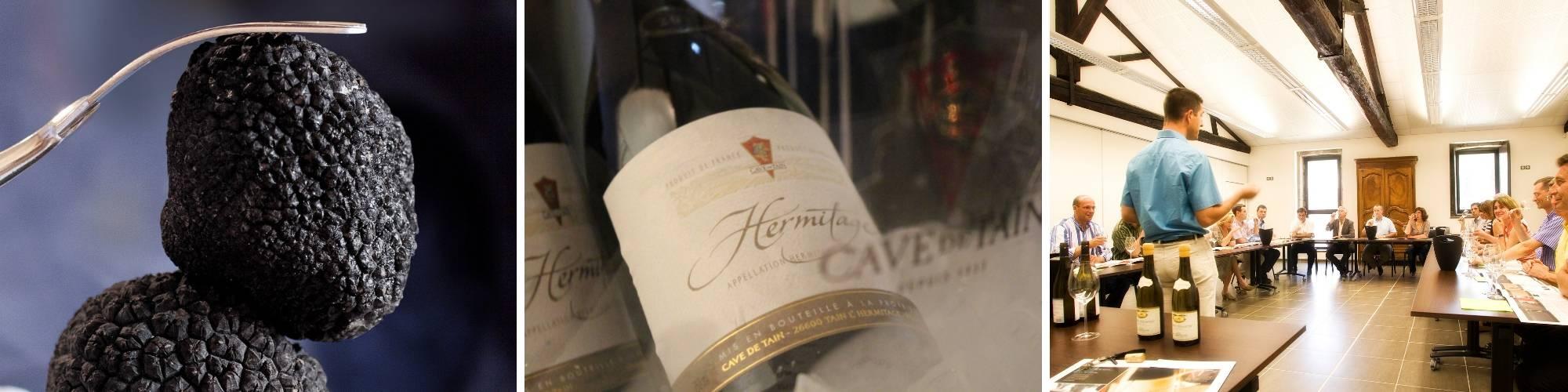 Séjour vin et Truffes en Ardèche Hermitage