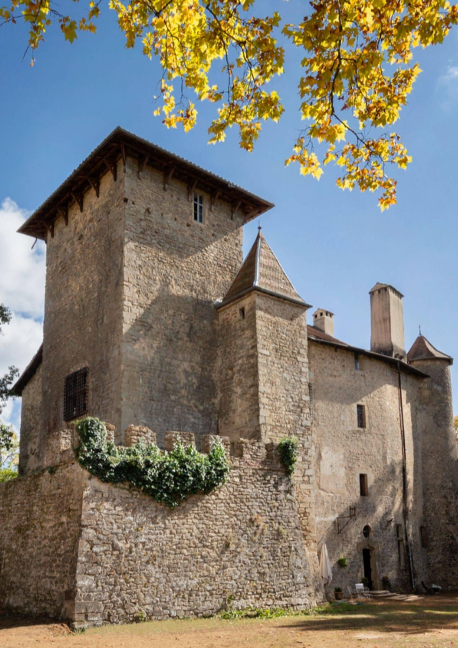 Chateau de Charmes sur l'Herbasse