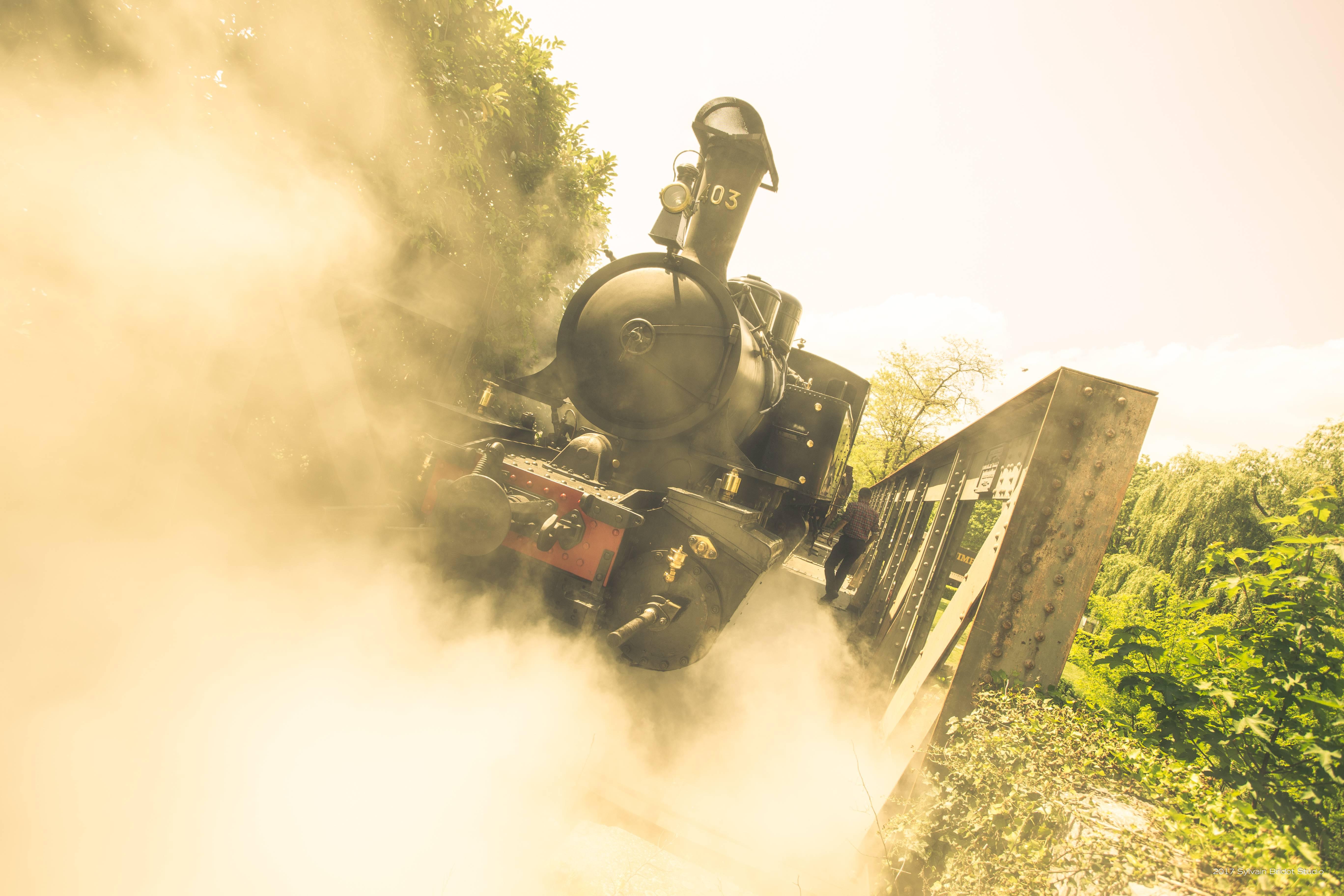 Train Fantôme au Train de l'Ardèche