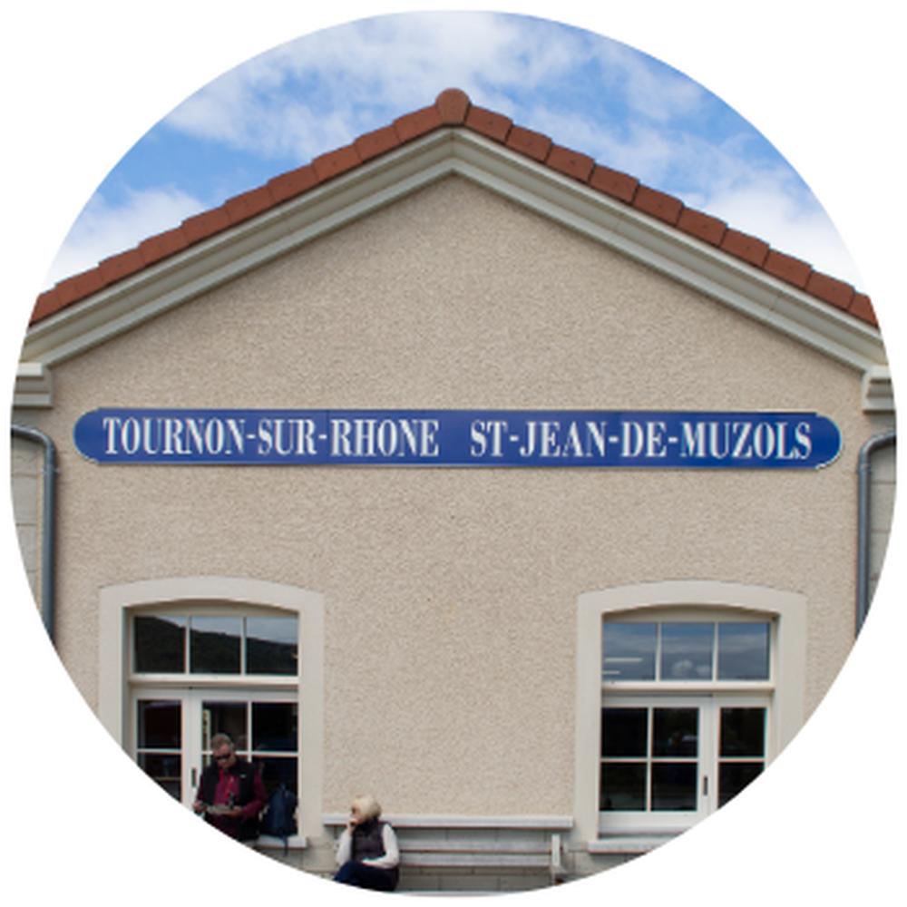 Gare Train de l'Ardèche Tournon/ Saint Jean