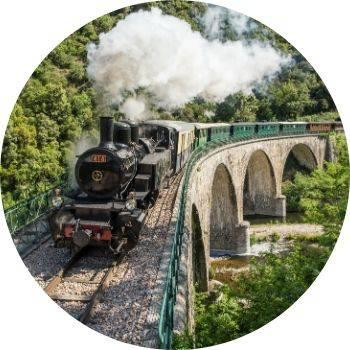 Le Mastrou, Train de l'Ardèche