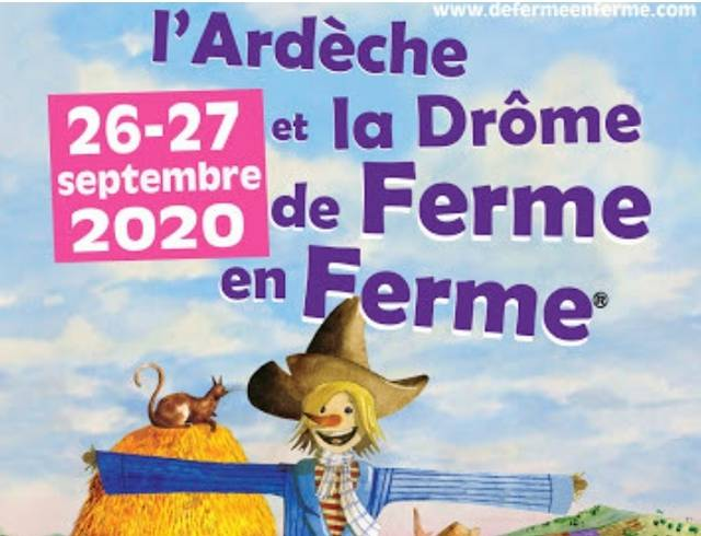 Un week-end de Ferme en Ferme en Ardèche Hermitage