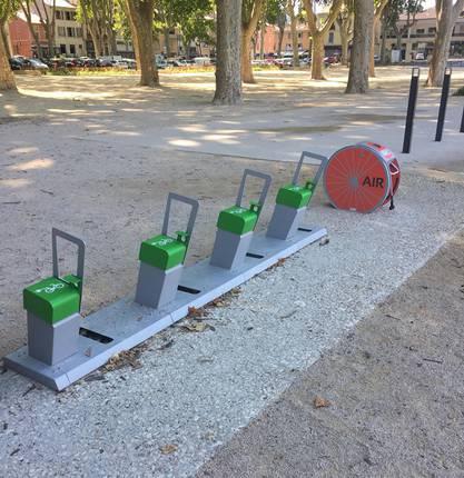 Aires de stationnement vélo