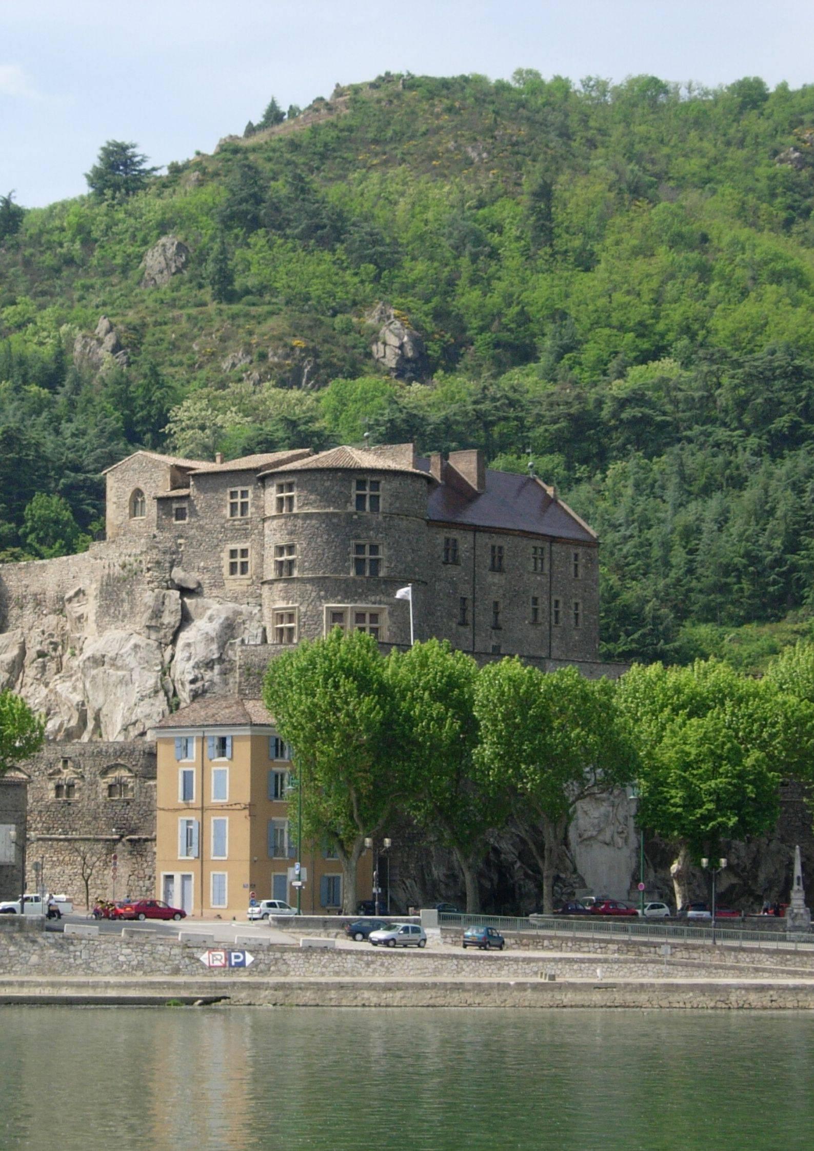 Façade nord Château de Tournon