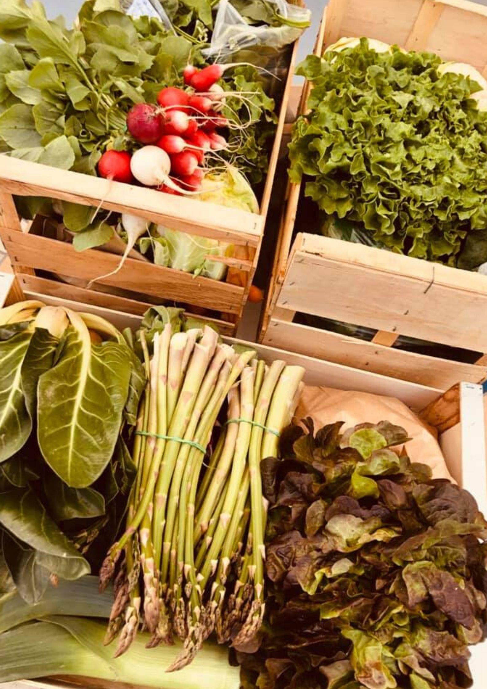 acheter local et de saison en Ardèche Hermitage