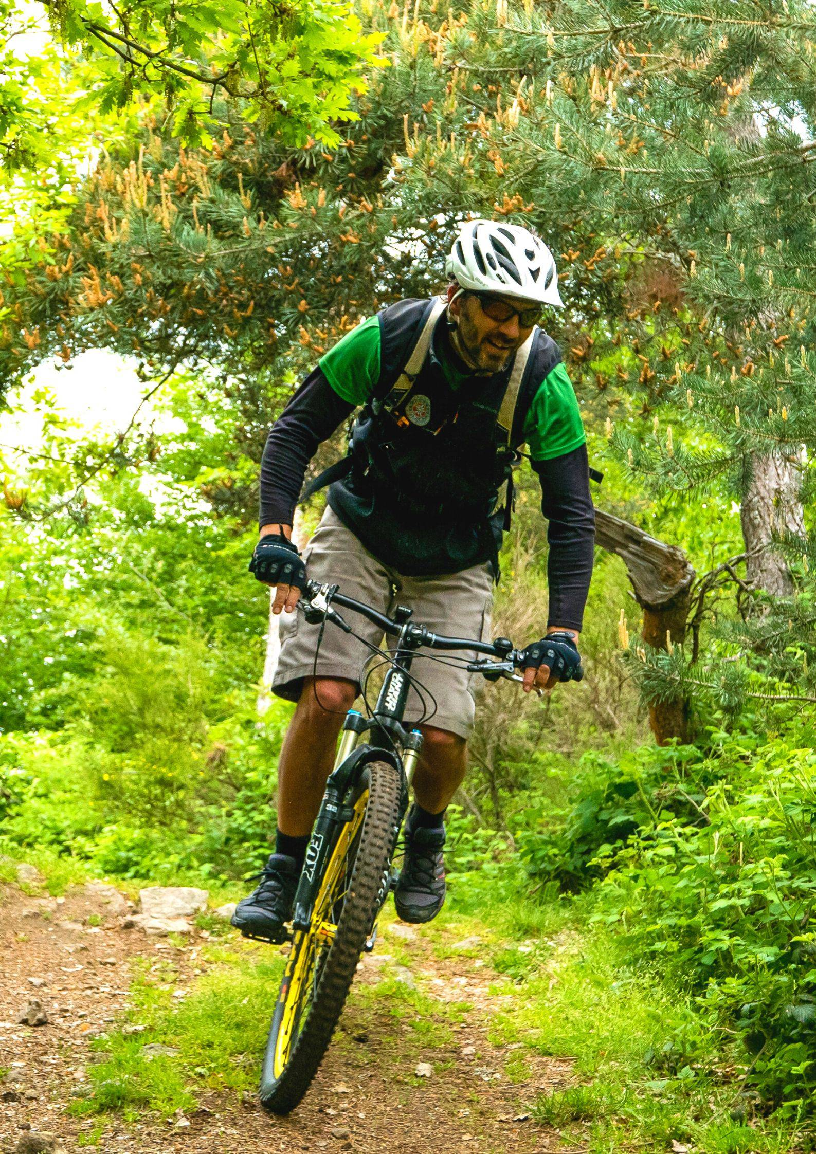 Randonnée VTT en Ardèche Verte