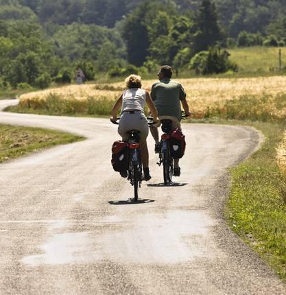 Bike tourism