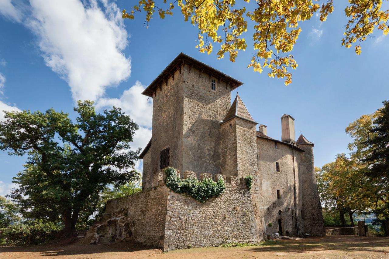 Le château de Charmes sur l'Herbasse