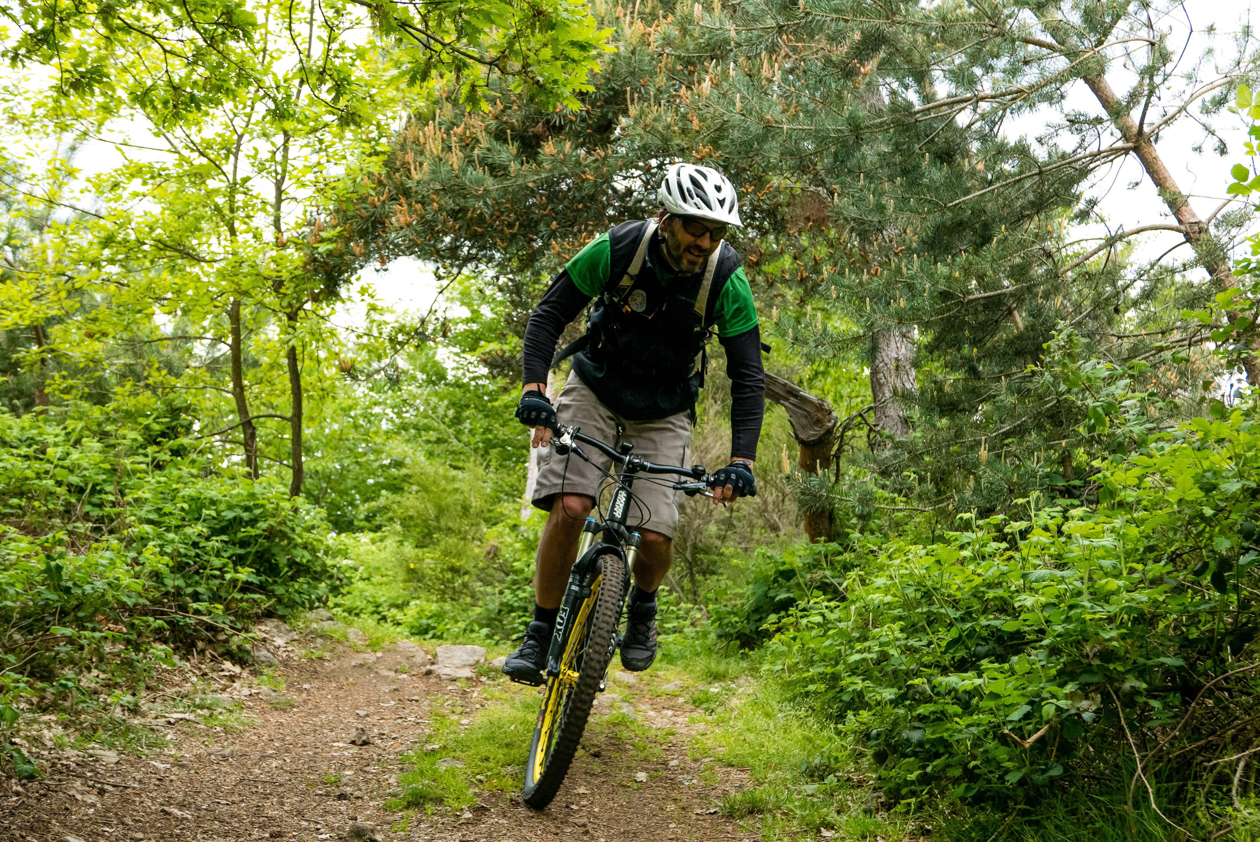VTT en Ardèche Verte