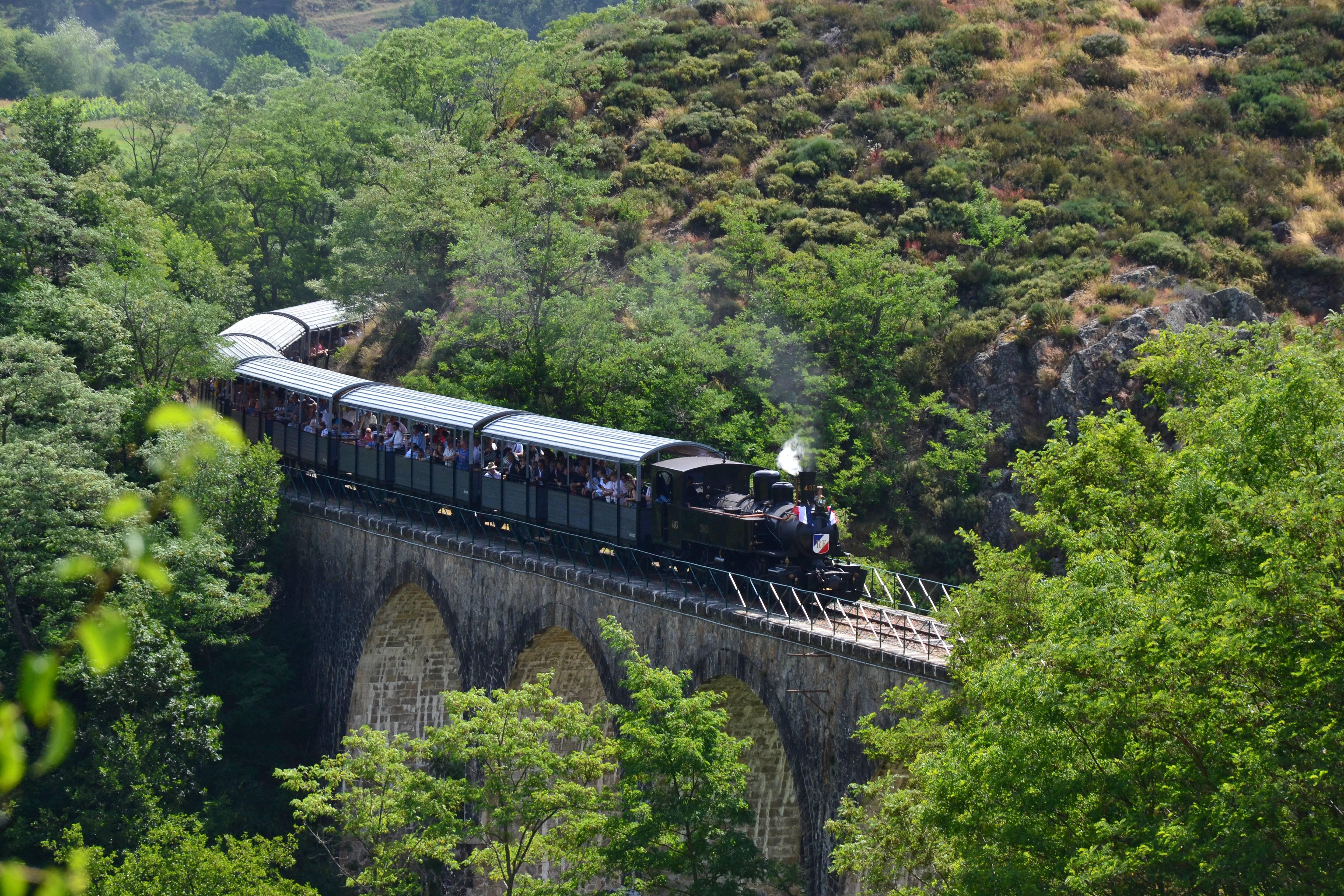 Mastrou - Train de l'Ardèche