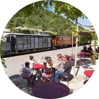 Buvette Train de l'Ardèche