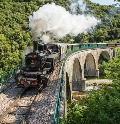 The Train de l'Ardèche