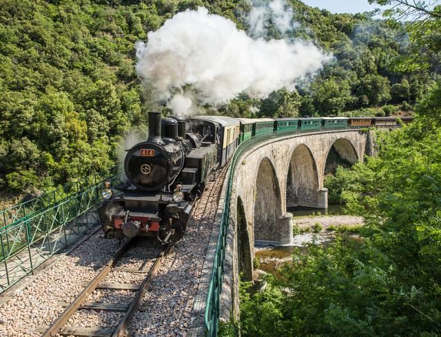 Le Mastrou, ou Train de l'Ardèche, vous embarque dans les Gorges du Doux!