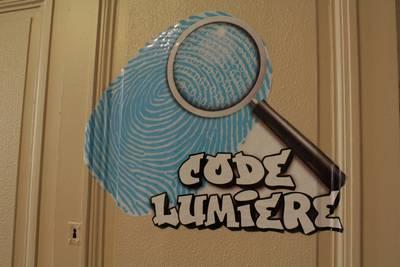 Code lumière escape game