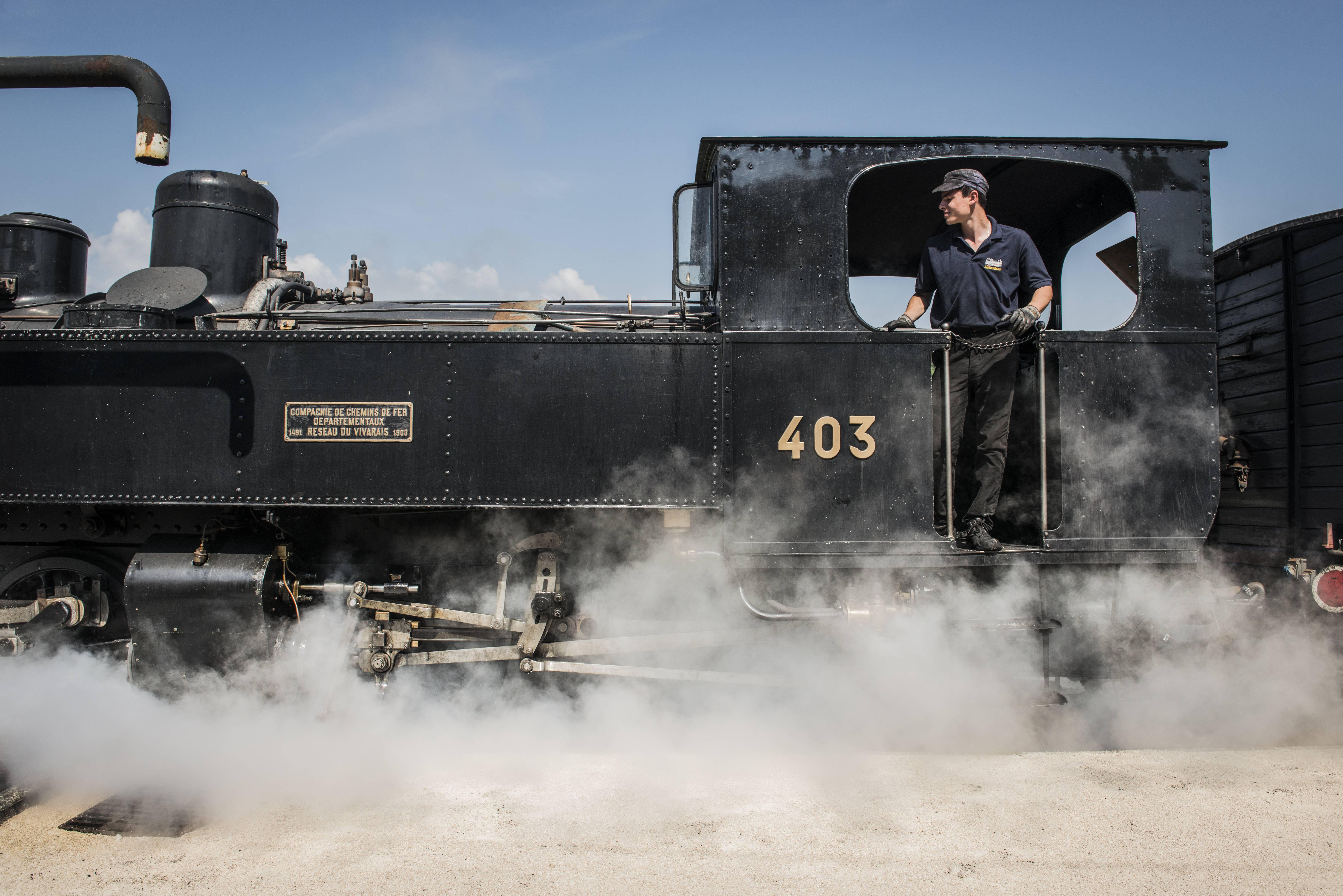 Conducteur Train de l'Ardèche
