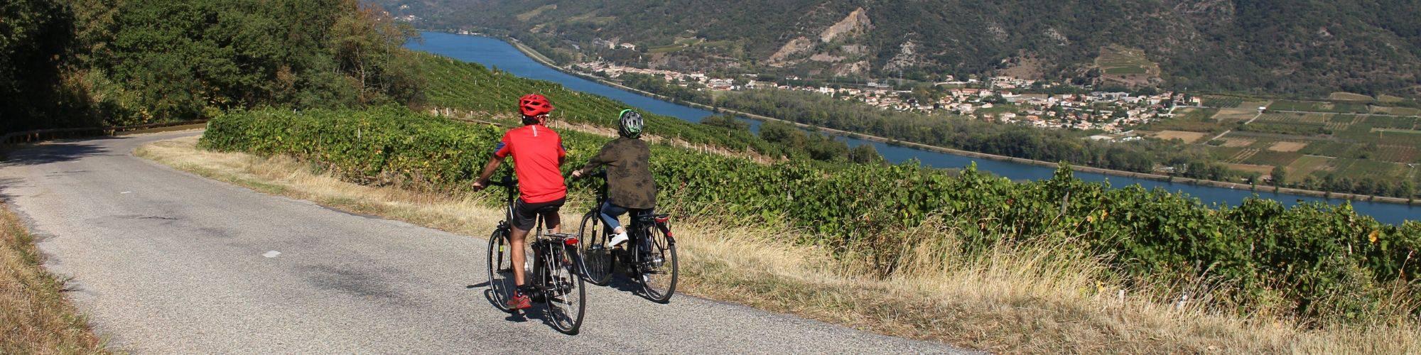 Vélo à assistance électrique de l'Ardèche