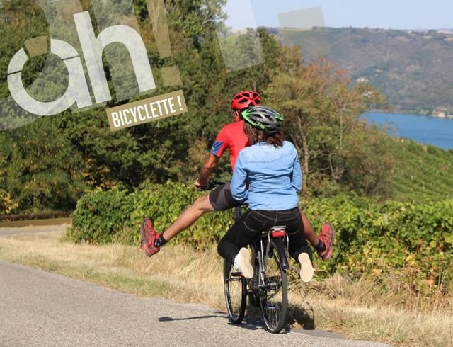 20 balades à vélo-électriques en Ardèche Hermitage: Roulez Branché!