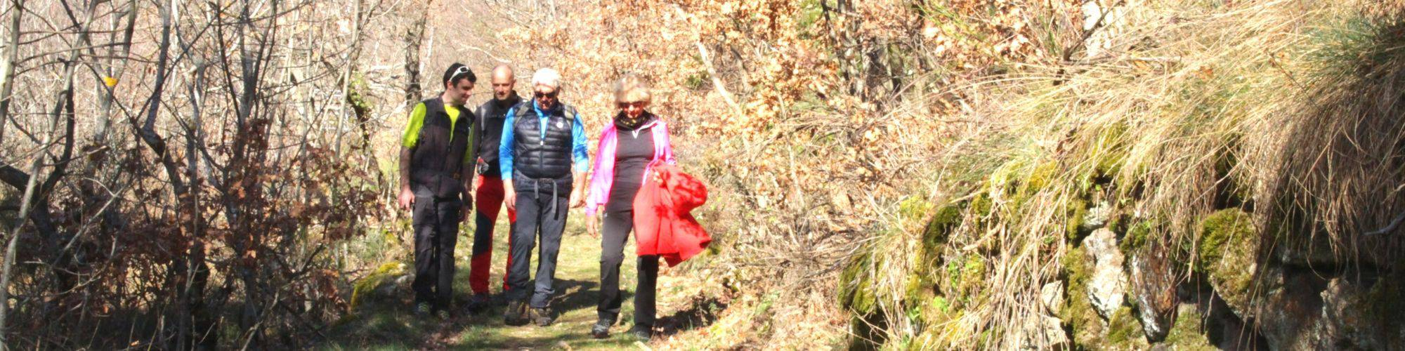 randonnée en Ardèche Verte