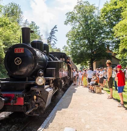 News for the opening of Mastrou, le Train de l'Ardèche