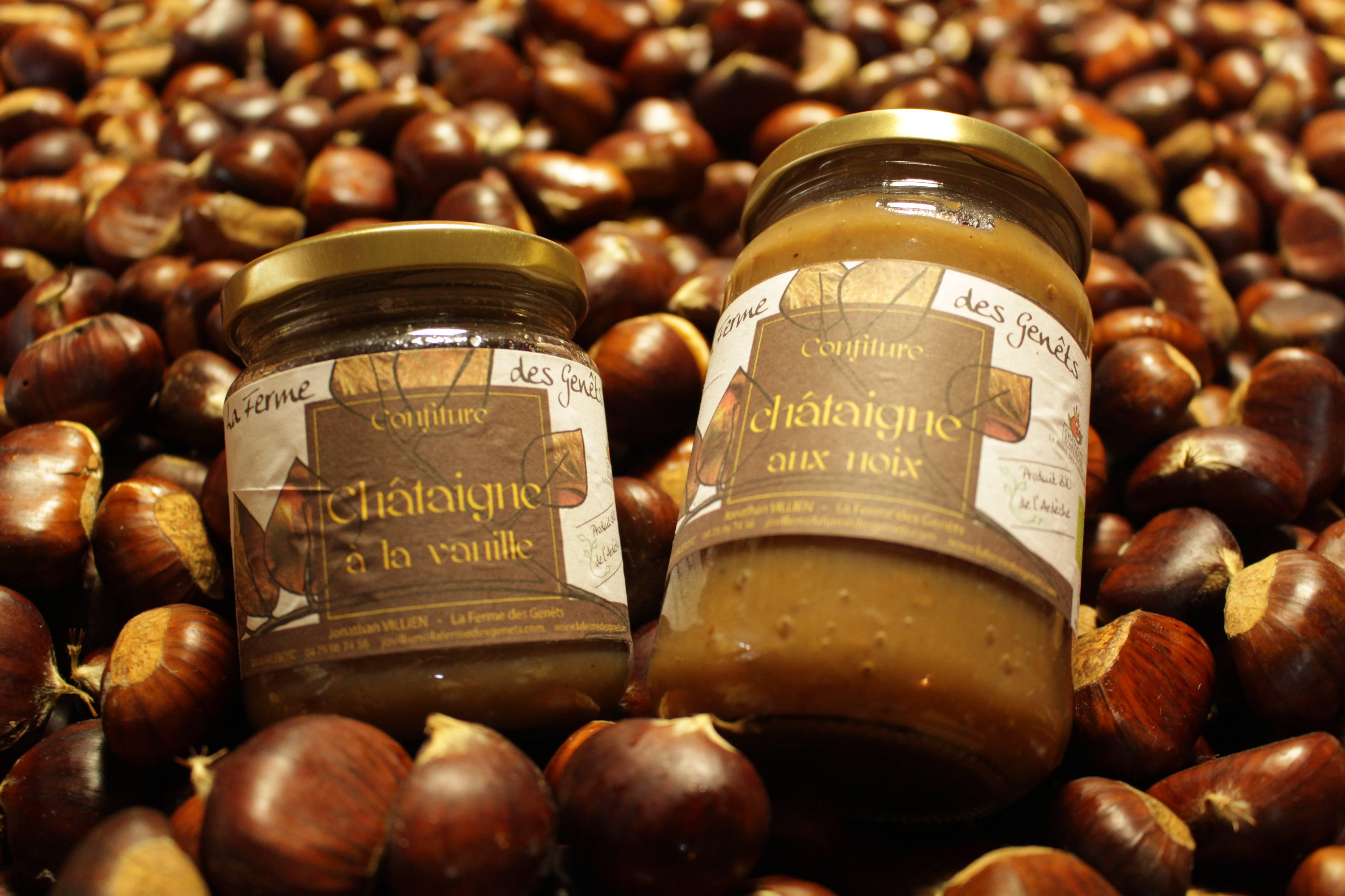 Créme de marron bio made in Ardèche Hermitage