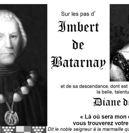 """Chasse au trésor """" Sur les pas d'Imbert de Batarnay"""""""
