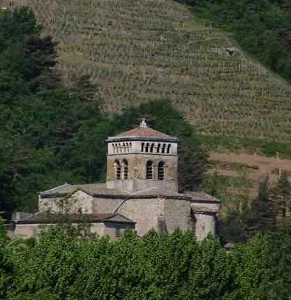 Romanic church of Vion