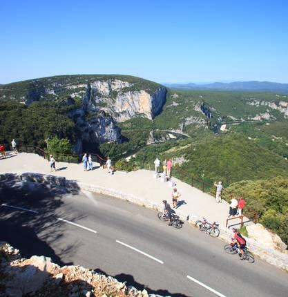 Sur les Routes de l'Ardéchoise : Les Gorges