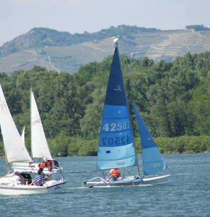 Sailing on the Rhône