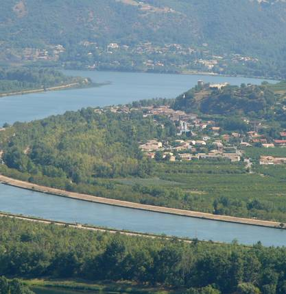 Das Belvedere von Puy de Serves