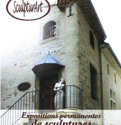 """Maison de l'Oratoire, Exhibition place of """"Sculpturart"""""""
