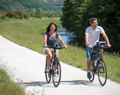 Séjour à vélo : ViaRhôna, de Vienne à Montélimar