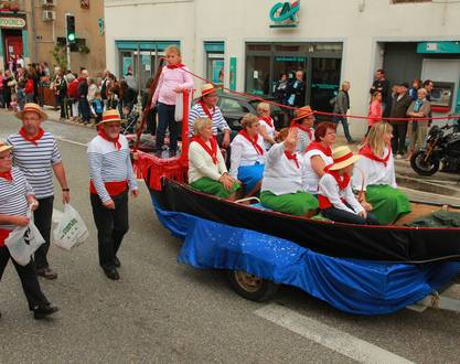 Parade for the grap harvest festival