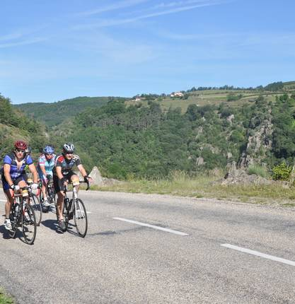 Sur les Routes de l'Ardéchoise : L'Ardèche Verte